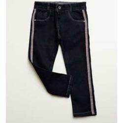 Calça Infantil Jeans Listras found on Bargain Bro India from marisa.com.br for $19.60