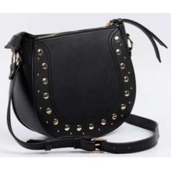 Bolsa Feminina Transversal Tachas Marisa found on Bargain Bro India from marisa.com.br for $34.30