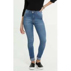 Calça Feminina Jeans Barra Dobrada Skinny Biotipo found on Bargain Bro India from marisa.com.br for $39.20