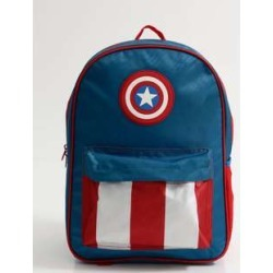Mochila Escolar Infantil Estampa Capitão America Xeryus found on Bargain Bro India from marisa.com.br for $48.98