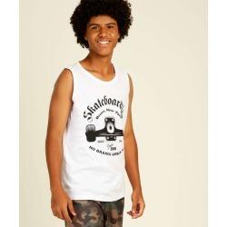 Regata Juvenil Estampa Frontal Skateboard MR Tam 10 a 16 found on Bargain Bro India from LinkShare USA for $9.80