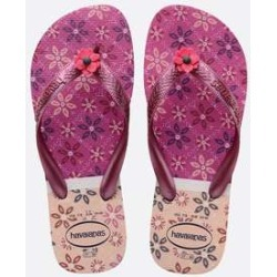 Chinelo Havaianas Feminino Estampado Top Gracia found on Bargain Bro Philippines from marisa.com.br for $14.70