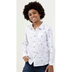 Camisa Infantil Estampa Praia Manga Longa MR found on Bargain Bro India from marisa.com.br for $29.40