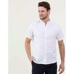 Camisa Masculina Gola Padre Manga Curta MR found on Bargain Bro India from marisa.com.br for $53.90