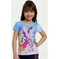 Blusa Infantil Estampa My Little Poney Manga Curta Hasbro found on Bargain Bro Philippines from marisa.com.br for $8.82