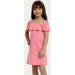 Vestido Infantil Ombro a Ombro Textura Manga Curta Marisa found on Bargain Bro India from marisa.com.br for $19.60