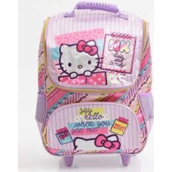 Mochila Infantil Escolar Rodinha Hello Kitty Xeryus found on Bargain Bro India from marisa.com.br for $53.90