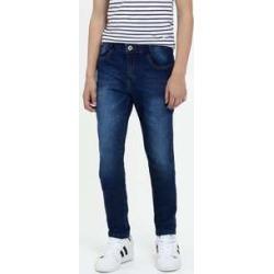 Calça Juvenil Jeans Bolsos Skinny found on Bargain Bro India from marisa.com.br for $24.50