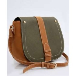 Bolsa Feminina Transversal Bicolor Marisa found on Bargain Bro India from marisa.com.br for $34.30