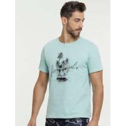 Camiseta Masculina Estampa Coqueiros Manga Curta MRC found on Bargain Bro India from marisa.com.br for $14.70