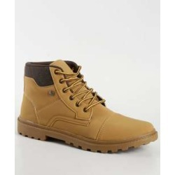 Bota Masculina Coturno Atlanta Ollie found on Bargain Bro India from marisa.com.br for $48.98