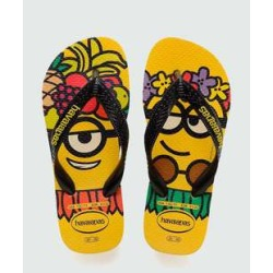 Chinelo Havaianas Infantil Estampa Minions 7186 found on Bargain Bro India from marisa.com.br for $14.70