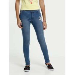 Calça Juvenil Jeans Skinny Estrelas Strass Marisa found on Bargain Bro Philippines from marisa.com.br for $29.40