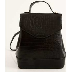 Mochila Feminina Textura Croco Marisa found on Bargain Bro India from marisa.com.br for $53.88
