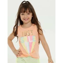 Blusa Infantil Estampa Frontal Paetê Sem Manga Marisa found on Bargain Bro Philippines from marisa.com.br for $14.70