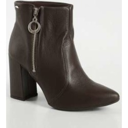 Bota Feminina Nobuck Cano Curto Salto Alto Dakota found on Bargain Bro India from marisa.com.br for $78.40