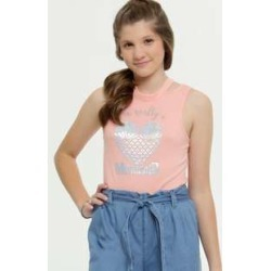 Blusa Juvenil Canelada Estampa Frontal found on Bargain Bro Philippines from marisa.com.br for $12.74