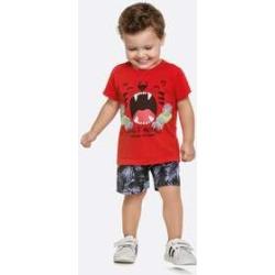 Conjunto Infantil Bebê Estampa Tigre Manga Curta found on Bargain Bro India from marisa.com.br for $19.60