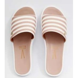 Chinelo Feminino Slide Listrado Vizzano found on Bargain Bro Philippines from marisa.com.br for $24.50
