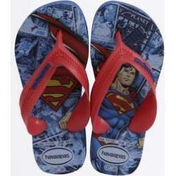 Chinelo Havaianas Infantil Super Homem Kids Max Heróis found on Bargain Bro from marisa.com.br for USD $13.41