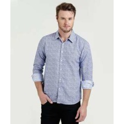 Camisa Masculina Slim Estampa Floral City Gear found on Bargain Bro India from marisa.com.br for $34.28