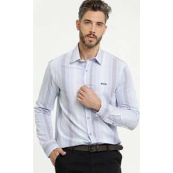 Camisa Masculina Listrada Manga Longa Zune Jeans found on Bargain Bro India from marisa.com.br for $48.98
