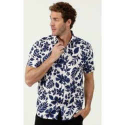 Camisa Masculina Estampa Floral Manga Curta MR found on Bargain Bro India from marisa.com.br for $49.00