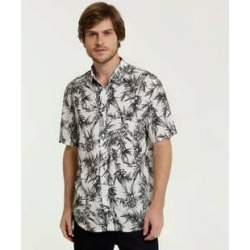 Camisa Masculina Estampa Folhas Manga Curta MR found on Bargain Bro India from marisa.com.br for $48.98
