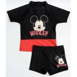 Conjunto Infantil Estampa Mickey Proteção UV Disney found on Bargain Bro India from marisa.com.br for $34.30