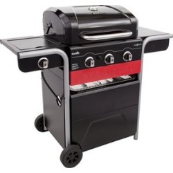 Char-Broil Gas2Coal Charcoal and 3 Burner Gas Grill, 40,000 BTU