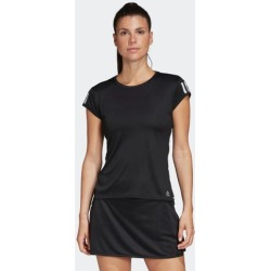 adidas 3-STRIPES CLUB TEE WOMEN BLACK size A/L found on Bargain Bro Philippines from Adidas HK for $29.77