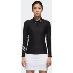 adidas LONG SLEEVE POLO SHIRT WOMEN BLACK size A/XL found on Bargain Bro Philippines from Adidas HK for $88.40