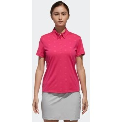 adidas ADICROSS DEBOSSED POLO SHIRT WOMEN PINK size A/S found on Bargain Bro India from Adidas HK for $71.50