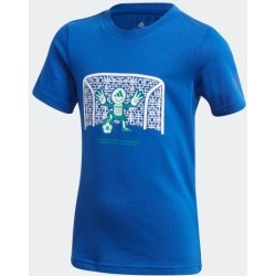 adidas COTTON TEE UNISEX ROYBLU size A128 found on Bargain Bro from Adidas HK for USD $9.88