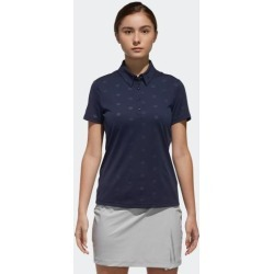 adidas ADICROSS DEBOSSED POLO SHIRT WOMEN NAVY size A/S found on Bargain Bro Philippines from Adidas HK for $71.50