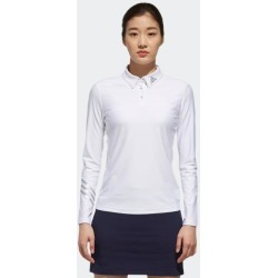 adidas LONG SLEEVE POLO SHIRT WOMEN WHITE size A/L found on Bargain Bro Philippines from Adidas HK for $88.40