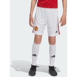 adidas MANCHESTER UNITED 20/21 HOME SHORTS BOYS WHITE size 140 found on Bargain Bro from Adidas HK for USD $22.72