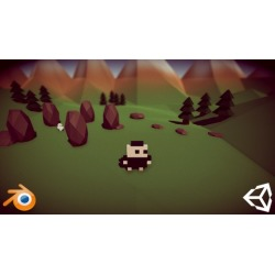 Create a Low Poly Game using Unity, Blender and MagicaVoxel found on Bargain Bro UK from Udemy