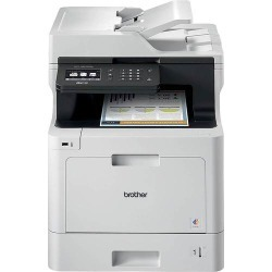 Brother - MFC-L8610CDW Wireless Color All-in-One Printer - White found on Bargain Bro India from Best Buy for $489.99