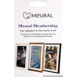 Meural - 1-Year Membership Card found on Bargain Bro India from Best Buy for $49.99