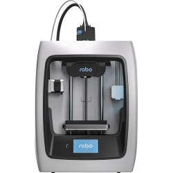 Robo 3D - C2 Wireless 3D Printer - Black/white