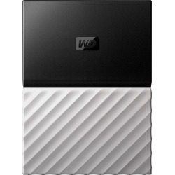WD - My Passport Ultra 2TB External USB 3.0 Portable Hard Drive with Hardware Encryption - Gray/Black