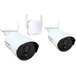 Night Owl - 4-Channel, 2-Camera Indoor/Outdoor Wireless 1080p Surveillance System found on Bargain Bro India from Best Buy for $249.99