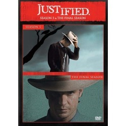 Justified: Seasons 5 and 6 [2 Discs] [DVD] found on Bargain Bro India from Best Buy for $58.99