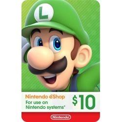 Nintendo - Nintendo eShop $10 Gift Card [Digital]