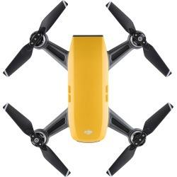 DJI - Spark Quadcopter - Yellow