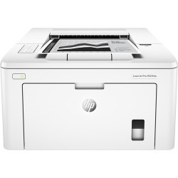HP - LaserJet Pro M203dw Wireless Black-and-White Printer - White found on Bargain Bro India from Best Buy for $129.99