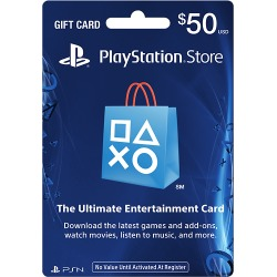 Sony - PlayStation Network $50 Gift Card