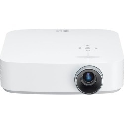 LG - PF50KA 1080p Wireless Smart DLP Projector - White