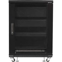 Sanus - Component 100 Series 15U A/V Rack - Black